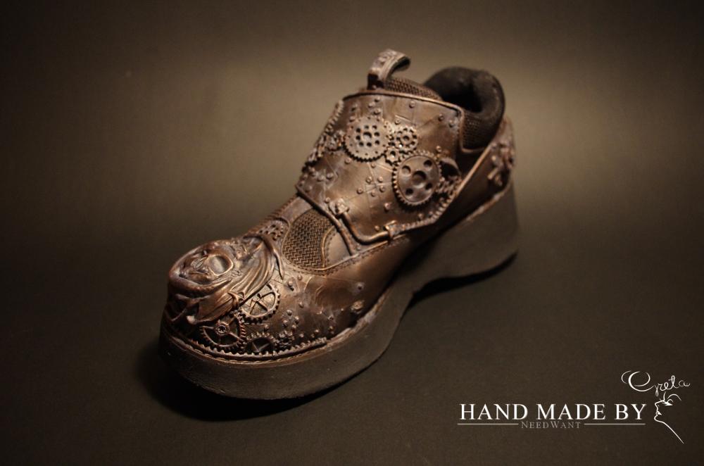 Steampunkowe buciki…