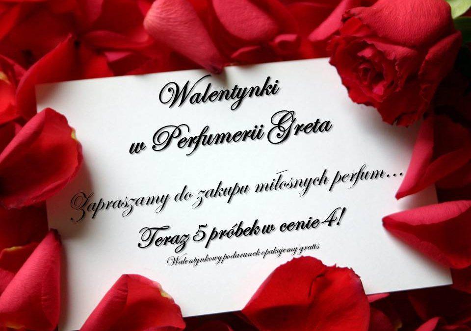 Walentynki w Perfumerii Greta