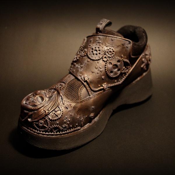 Steampunkowe buciki